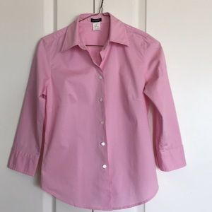 New pink J.Crew button down